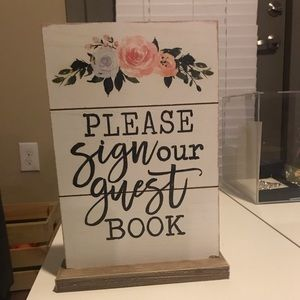 Other - Wedding Guest Book Sign